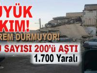 Büyük yıkım, gün ağarınca ortaya çıktı; Ölü ve yaralı sayısı artıyor!