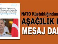 NATO küstahlığından sonra aşağılık bir mesaj daha!