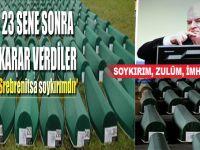 23 Sene sonra; 'Bosna kasabı' Mladic hakkında karar: Soykırım yaptı!