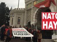 "Üniversiteler tek ses; ""NATO'ya Hayır!"""