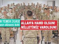 Askeriyede yeni dönem:Mehmetçik 'Allahımıza Hamdolsun' diyecek!