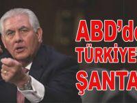 ABD'den Türkiye'ye şantaj!