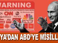 Rusya ABD'li medya kuruluşlarını 'yabancı ajan' ilan etti!