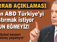 Cumhurbaşkanı Erdoğan sert mesajlar: Türkiye'yi sıkıştırmak istiyorlar, boyun eğmeyeceğiz!