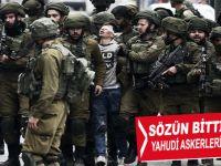 Sözün bittiği yer; Yahudi askerleri ve Kudüs'ü savunan Filistinli çocuk!