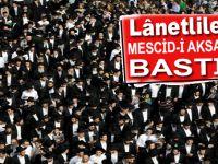 Lânetli Yahudiler Mescid-i Aksa'ya baskın yaptı!