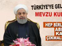 İran Cumhurbaşkanı Hasan Ruhani: Hep birlikte ABD'nin kararına karşı çıkmalıyız!
