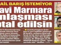 Mavi Marmara Anlaşması iptal edilsin!