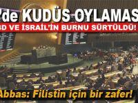 BM'de tarihi Kudüs oylaması kabul edildi!