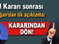BM kararı sonrası Erdoğan'dan ilk açıklama!