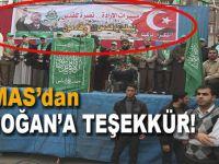 Hamas'tan Cumhurbaşkanı Erdoğan'a teşekkür!