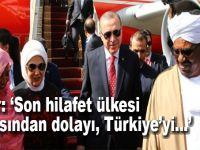 """Beşir: """"Son hilafet ülkesi olmasından dolayı Türkiye'yi..."""""""