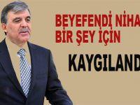 Abdullah Gül sivillere ceza muafiyeti KHK'sına tavır koydu!