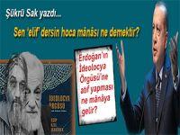Şükrü Sak yazdı; Erdoğan'ın İdeolocya Örgüsü'ne yaptığı vurguyu nasıl okumalıyız?