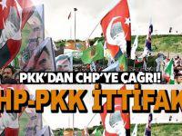 PKK'dan CHP'ye 'tek tip ittifak' çağrısı!