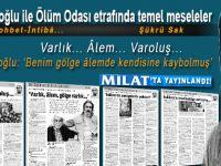 Salih Mirzabeyoğlu ile Ölüm Odası etrafında temel meseleler...