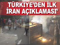 Türkiye'den flaş İran açıklaması!