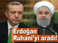 Cumhurbaşkanı Erdoğan Ruhani ile görüştü!