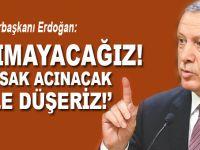 """Cumhurbaşkanı Erdoğan: """"Acımayacağız! Acırsak acınacak hale düşeriz!"""""""
