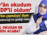 Hüda Kaya HDP'li olmasını Kur'an-ı Kerim'e bağladı!