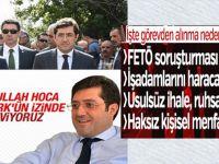 CHP'nin FETÖ soruşturması devam eden Belediye Başkanı görevden alındı; yağmalamış!