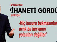 """Cumhurbaşkanı Erdoğan'dan Gül'e; """"Artık bu kervanın yolcuları değiller!"""""""