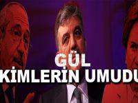 Gül'ün dönüşü için Erdoğan'ı durdurmanın dışında başka bir neden veya ihtiyaç gören var mı?