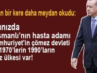 Cumhurbaşkanı Erdoğan, Türkiye üzerine hesap yapanlara bir kere daha meydan okudu!