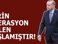 Cumhurbaşkanı Erdoğan: Afrin operasyonu fiilen başlamıştır!