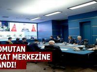 Cumhurbaşkanı Erdoğan askeri yetkililerden bilgi aldı!