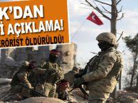 TSK'dan yeni açıklama: Zeytin Dalı'nda son bilanço!