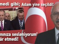 Komedi gibi; Kılıçdaroğlu yine CHP genel başkanı seçildi!