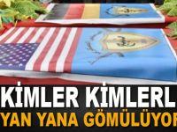 Türkiye düşmanı teröristler YPG'de buluştu; yan yana gömülüyorlar!