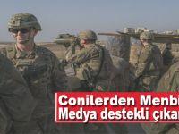 ABD'den Münbiç'e medya destekli çıkartma!