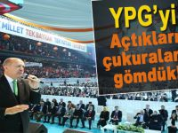 """Cumhurbaşkanı Erdoğan: """"Teröristleri açtıkları çukurlara gömdük, gömmeye devam ediyoruz!"""""""