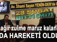"""İlhami Sayan YENİNDER'de konuştu: """"En ağır zulme maruz kalanlar İBDA hareketi oldu!"""""""