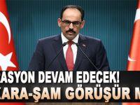 """Ankara-Şam görüşür mü?"""