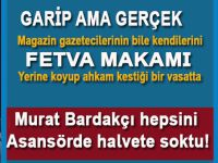 """Murat Bardakçı, her konuda """"fetva veren"""" magazin gazetecilerini asansörde halvete soktu!"""