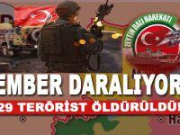 TSK'dan Afrin açıklaması;  Çember daralıyor! 1829 terörist öldürüldü!