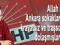 """CHP'nin Ankara valisinin """"öküz Anadolulu"""" dediği çiftçinin cumhurbaşkanının huzurunda ne işi var?"""