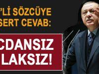 Erdoğan'dan ABD'li sözcüye sert cevab: Vicdansız, ahlâksız!