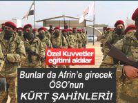 ÖSO'nun Kürt Şahinleri Afrin yolunda!