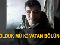 Afrin şehidinin ailesine gönderdiği son fotoğraf!