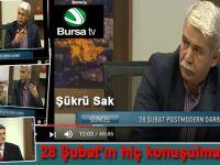 28 Şubat, darbe ve direniş; Şükrü Sak Bursa Tv'de Aykut Gül'ün konuğuydu!