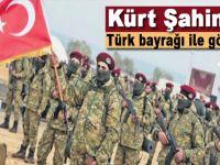 Kürt Şahinleri Tugayı Türk bayrağıyla görevde!