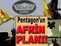 Pentagon'un Afrin planı