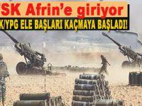 YPG/PKK elebaşları Afrin'den kaçıyor!
