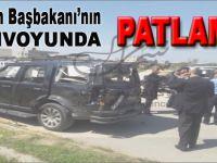 Filistin Başbakanı'nın konvoyunda patlama!