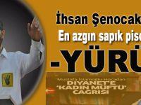 İhsan Şenocak'tan sapık Pisoğlu'na; Yürü!..