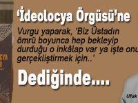 """Ufuk Coşkun: """"Ben Erdoğan'ın bu çıkışını dershaneler konusunda yaptığı çıkışa benzetiyorum!"""""""